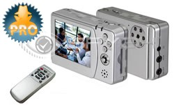 Portable MP4 Recorder with Build-In IR Camera