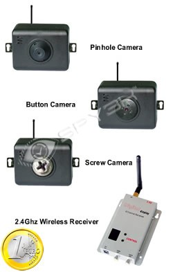 Draadloze Mini Camera Set
