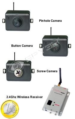 Draadloze Mini Camera Set