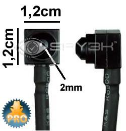 Kleinste CCD Dag en Nacht Mini Camera