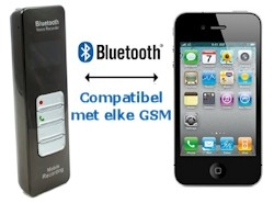 Bluetooth GSM Recorder