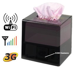 Tissue Box IP Camera