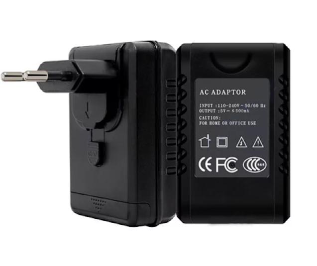 Verborgen Camera in Adapter